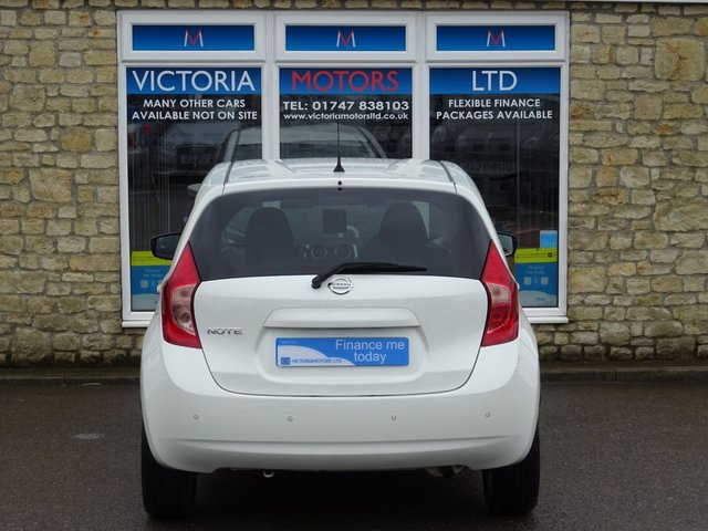 NISSAN NOTE at Victoria Motors Ltd