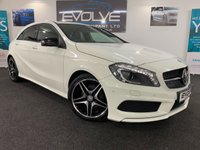 USED 2015 MERCEDES-BENZ A CLASS 2.1 A200 CDI AMG NIGHT EDITION 5d AUTO 134 BHP LOW MILES, F/S/H, IMMACULATE!!