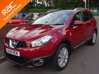 USED 2010 10 NISSAN QASHQAI+2 2.0 N-TEC PLUS 2 DCI 5dr, FULL SERVICE HISTORY YES ONLY 86,000 MILES FROM NEW, 7 SEATER, GREAT SPEC