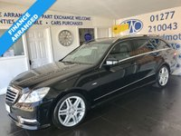 USED 2012 62 MERCEDES-BENZ E CLASS 2.1 E250 CDI BLUEEFFICIENCY SPORT 5d AUTO 204 BHP