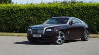 USED 2014 14 ROLLS-ROYCE WRAITH 6.6 V12 2d AUTO 624 BHP 1 OWNER + ONLY 3K WITH FSH