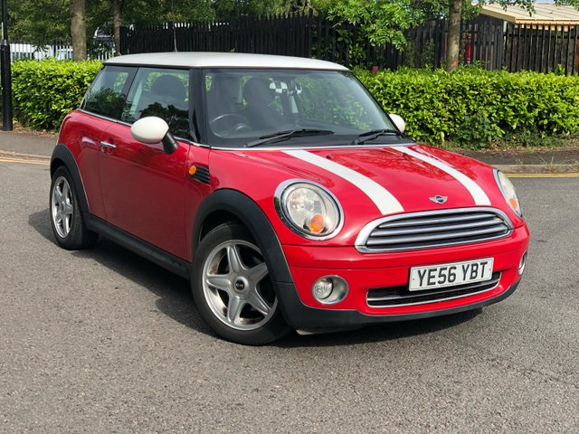 2006 56 MINI HATCH COOPER 1.6 COOPER 3d 118 BHP