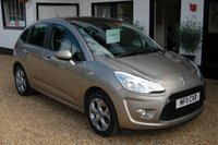 USED 2011 11 CITROEN C3 1.6 EXCLUSIVE 5d AUTO 118 BHP Panoramic Windscreen with Service History and low mileage