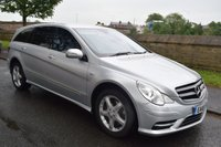USED 2010 10 MERCEDES-BENZ R CLASS 3.0 R350 CDI L GRAND EDITION 5d AUTO 224 BHP SERVICE HISTORY, 7 SEATS, SATELLITE NAVIGATION, REAR ENTERTAINMENT, REAR PRIVACY GLASS, BLUETOOTH, HEATED AND COOLING SEATS