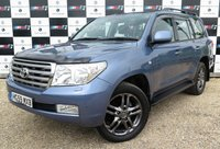 USED 2009 59 TOYOTA LAND CRUISER 4.5 V8 D-4D 5d AUTO 286 BHP