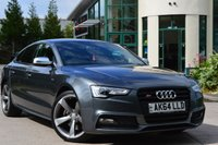 USED 2014 64 AUDI A5 3.0L S5 SPORTBACK TFSI QUATTRO BLACK EDITION 5d AUTO 333 BHP ***PREVIOUSLY SOLD BY OURSELVES*** ***AWAITING PREP***