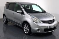 USED 2009 59 NISSAN NOTE 1.4 N-TEC 5d 87 BHP 2 LADY OWNERS with SERVICE HISTORY