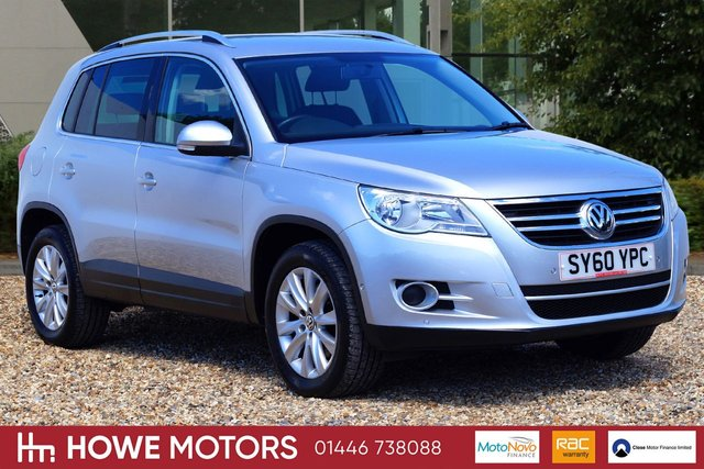 2011 60 VOLKSWAGEN TIGUAN 2.0 MATCH TDI 4MOTION 5d 138 BHP HEATED SEATS PARK ASSIST WITH PDC RADIO/CD/MP3 WITH DAB CAMBELT DONE