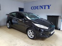 USED 2016 16 FORD FIESTA 1.2 ZETEC 5d 81 BHP * GREAT SPEC * SAT NAV *