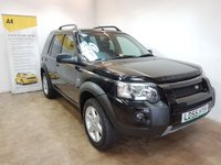 USED 2005 55 LAND ROVER FREELANDER 2.0 TD4 SPORT 5d AUTO 110 BHP SAT NAV AND LEATHER