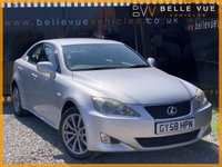 USED 2008 58 LEXUS IS 2.2 220D SE 4d 175 BHP *SAT NAV, LEATHER, 9 SERVICE STAMPS!*