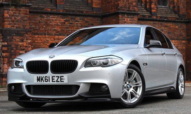 2011 61 BMW 5 SERIES 3.0 535D M SPORT 4d AUTO 295 BHP