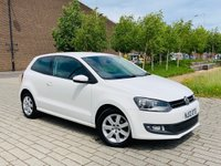 USED 2012 12 VOLKSWAGEN POLO 1.2L MATCH 3d 59 BHP