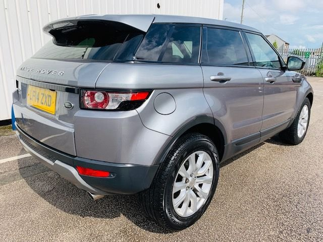 USED 2014 14 LAND ROVER RANGE ROVER EVOQUE 2.2 SD4 PURE TECH 5d AUTO 190 BHP LAND ROVER SERVICE HISTORY - 1 OWNER FROM NEW - REAR VIEW CAMERA - PANORAMIC ROOF - 2 KEYS - 3 MONTH WARRANTY