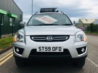 2009 KIA SPORTAGE 2.0 XE CRDI 5 DOOR 4WD STATION WAGON with low miles and full service history £3995.00