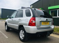 USED 2009 59 KIA SPORTAGE 2.0 XE CRDI 5 DOOR 4WD STATION WAGON with low miles and full service history