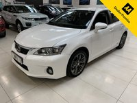 USED 2013 13 LEXUS CT 1.8 200H LUXURY 5d 136 BHP