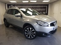 USED 2013 62 NISSAN QASHQAI+2 1.5 N-TEC PLUS 2 DCI 5d + 1 OWNER + FULL HISTORY + 2 KEYS