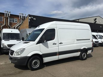 2011 MERCEDES-BENZ SPRINTER 2.1 313CDI MWB HIGH ROOF 130BHP. EXCELLENT VALUE. PX £3990.00