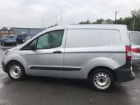 USED 2015 15 FORD TRANSIT COURIER 1.5 BASE TDCI  2 DOOR 74 BHP IN SILVER WITH 65600 MILES AND A FULL SERVICE HISTORY IN IMMACULATE CONDITION(£5999 PLUS VAT)  APPROVED CARS ARE PLEASED TO OFFER THIS FORD TRANSIT COURIER 1.5 BASE TDCI 2 DOOR 74 BHP IN SILVER WITH 65600 MILES IN IMMACULATE CONDITION INSIDE AND OUT IN A NICE SILVER COLOUR NOT THE USUAL WHITE WITH A FULL SERVICE HISTORY AND ITS NEW SHAPE AN IDEAL WORK HORSE THAT IS READY FOR WORK.(£5999 PLUS VAT AT 20 %)