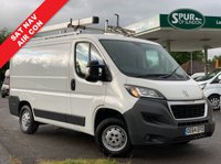 USED 2015 64 PEUGEOT BOXER 2.2 HDI 330 L1H1 PROFESSIONAL P/V 1d 110 BHP Roof Rack, SAT NAV, Air Con, Phone Connection, Interior Racking.