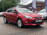 USED 2013 62 FORD FOCUS 1.0 ZETEC 5d 99 BHP 1 PREVIOUS KEEPER *  BLUETOOTH *  MEDIA CONNECTIVITY *  PRIVACY GLASS *  DAB RADIO *  MOT FEB 2020 *