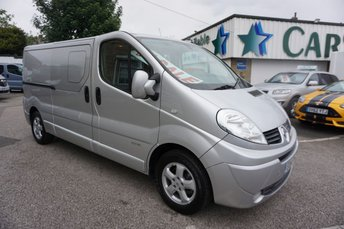 2014 RENAULT TRAFIC 2.9T 2.0 LL29DCI 115 SPORT CREWCAB 6DR ( 6 SEATER & NO VAT !! ) £12989.00