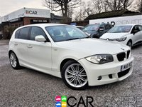 USED 2011 11 BMW 1 SERIES 2.0 118D M SPORT 5d 141 BHP FULL SERVICE + REMAPPED 170BHP