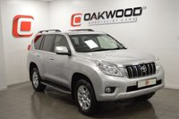 USED 2012 12 TOYOTA LAND CRUISER 3.0 LC4 D-4D 5d AUTO 188 BHP LOW MILES + SERVICES HISTORY + PART EX WELCOME