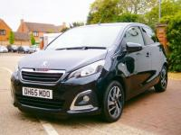 USED 2016 65 PEUGEOT 108 1.2 PureTech Allure 5dr FREE ROAD TAX