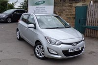 USED 2013 13 HYUNDAI I20 1.2 ACTIVE 5d 84 BHP ONLY £30 Road Tax .... Sold With 12 Months MOT And Service !!