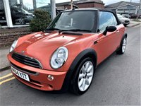 2004 MINI CONVERTIBLE 1.6 ONE 2d 89 BHP £2495.00