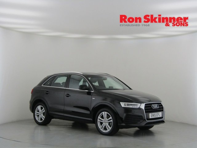View our 2015 15 AUDI Q3 2.0 TDI S LINE 5d 148 BHP