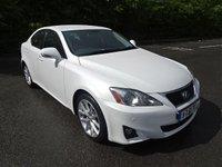 USED 2011 61 LEXUS IS 2.5 250 ADVANCE 4d AUTO 205 BHP