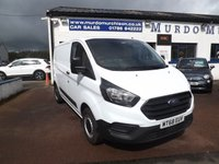 USED 2018 68 FORD TRANSIT CUSTOM 2.0 300 BASE P/V L1 H1 1d 104 BHP