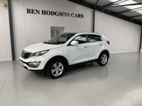 USED 2013 63 KIA SPORTAGE 1.6 2 5d 133 BHP Only 45k Miles! Bluetooth and Parking sensors!