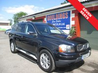 USED 2010 10 VOLVO XC90 2.4 D5 SE PREMIUM AWD 5d AUTO 185 BHP FULL SERVICE HISTORY - SEE IMAGES