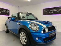 USED 2012 12 MINI CONVERTIBLE 1.6 COOPER S 2d 184 BHP