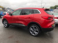 USED 2016 66 RENAULT KADJAR 1.2 DYNAMIQUE S NAV TCE 5d 130 BHP IN METALLIC RED WITH SAT NAV AND ONLY 32000 MILES. APPROVED CARS ARE PLEASED TO OFFER THIS RENAULT KADJAR 1.2 DYNAMIQUE S NAV TCE 5d 130 BHP IN METALLIC RED WITH SAT NAV,UPGRADED ALLOYS,BLUETOOTH AND MUCH MORE WITH A FULL SERVICE HISTORY A GREAT CAR AT A VERY SENSIBLE PRICE.