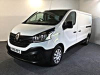 USED 2016 66 RENAULT TRAFIC 1.6 LL29 BUSINESS DCI 1d 120 BHP EURO 6 LONG WHEEL BASE EURO 6, SAT NAV, LONG WHEEL BASE
