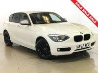 USED 2012 62 BMW 1 SERIES 1.6 116I SE 5d 135 BHP BLUETOOTH | AIR CON | ALLOYS |
