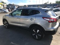 USED 2015 64 NISSAN QASHQAI 1.5 DCI N-TEC PLUS 5d 108 BHP IN METALLIC SILVER WITH 60,000 MILES AND FULL SERVICE HISTORY APPROVED CARS AND FINANCE ARE PLEASED TO OFFER THIS NISSAN QASHQAI 1.5 DCI N-TEC PLUS 5 DOOR 108 BHP IN METALLIC SILVER WITH 60,000 MILES AND A FULL SERVICE HISTORY. THIS VEHICLE HAS GOT A GREAT SPEC SUCH AS BLUETOOTH, ALLOYS, SATELLITE NAVIGATION , FRONT AND REAR PARKING SENSORS , AIR CONDITIONING, REAR CAMERA AND MUCH MORE.THIS VEHICLE IS PERFECT FOR THE FAMILY DUE TO THE SPACE AND VERY CHEAP TO RUN DUE TO THE LOW ENGINE SIZE AND BEING VERY ECONOMICAL WITH THE 1.5 LITRE DIESEL. NOT A VEHICLE T