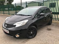 2013 NISSAN NOTE 1.5 DCI ACENTA PREMIUM 5d 90 BHP ALLOYS PRIVACY SATNAV CRUISE BLUETOOTH A/C MOT 12/19 £4490.00