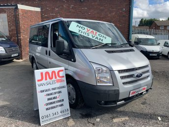 2012 FORD TRANSIT 2.2 280 TOURNEO TREND 125BHP 9 SEATS MINI BUS NO VAT TO PAY £9295.00