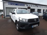USED 2017 67 TOYOTA HI-LUX 2.4 ACTIVE 4WD D-4D S/C 1d 148 BHP