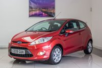 USED 2009 09 FORD FIESTA 1.4 ZETEC 16V 3d AUTO 97 BHP JUNE 2020 MOT & Just Been Serviced