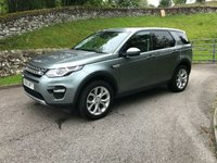 USED 2016 65 LAND ROVER DISCOVERY SPORT 2.0 TD4 HSE 5d AUTO 180 BHP