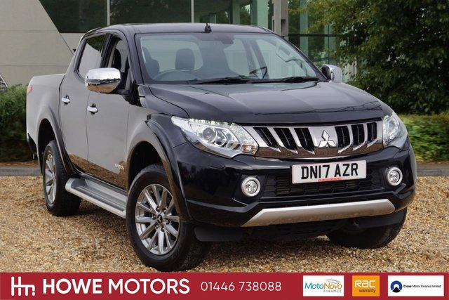 2017 17 MITSUBISHI L200 2.4 DI-D 4WD WARRIOR DCB 1d 178 BHP NAVIGATION FULL HEATED LEATHER BI-XENON DAYTIME RUNNING LIGHTS BLUETOOTH PDC