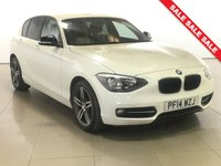 USED 2014 14 BMW 1 SERIES 2.0 116D SPORT 5d AUTO 114 BHP BLUETOOTH | DAB | AIR CON |