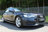 USED 2012 62 AUDI A6 2.0 AVANT TDI S LINE 5d 175 BHP AUDI PLUS ONE OWNER FROM NEW WITH FULL HISTORY INC TIMING BELT!!!